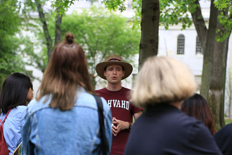 Trademark Tours says it had about 3,000 guests in its Mandarin-language Harvard tours last year. (Photo: Dian Zhang)